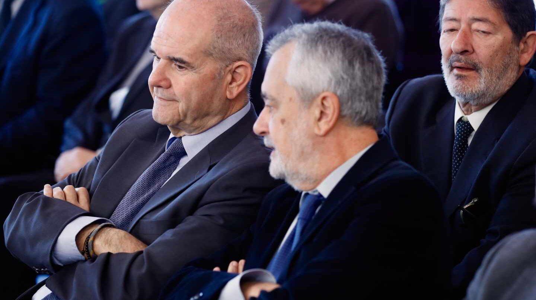 Manuel Chaves y José Antonio Griñán, en el juicio de los ERE.