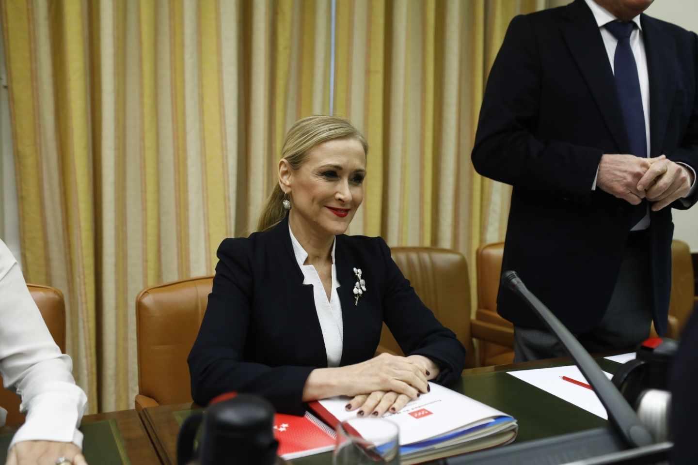 Cristina Cifuentes comparece en el Congreso.