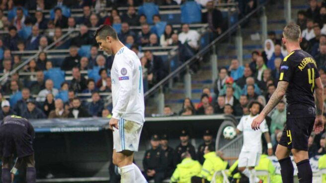 El jugador del Real Madrid, Cristiano Ronaldo.