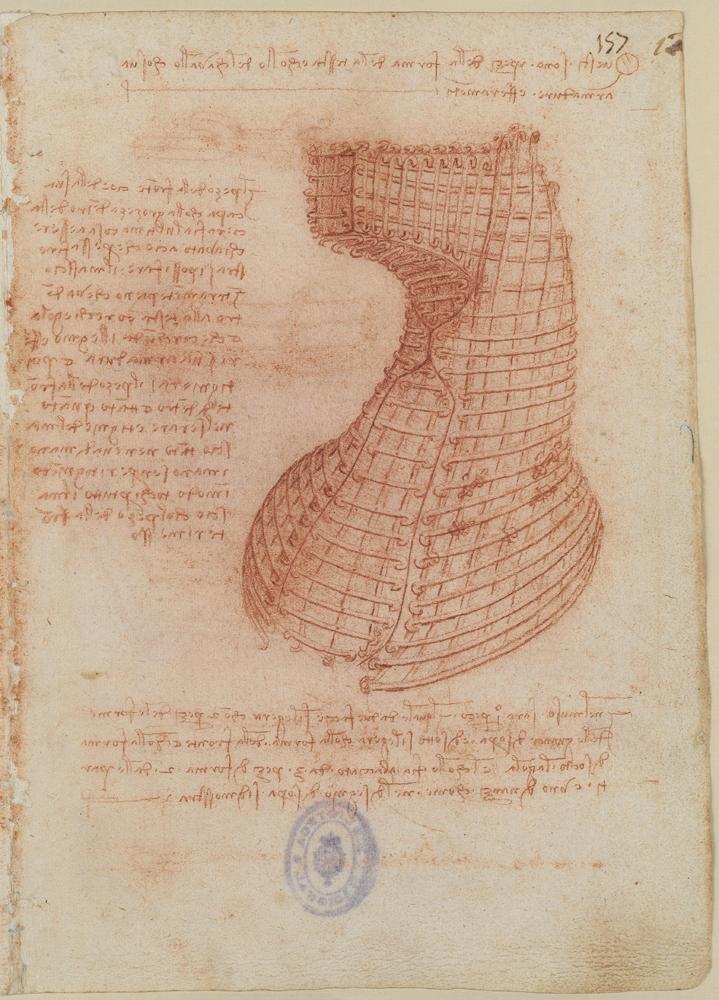 Ilustración de Da Vinci