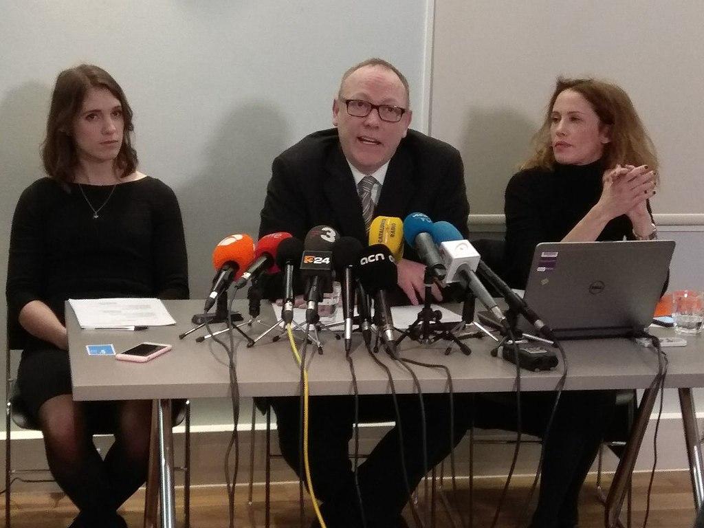 Ben Emmerson, abogado de Carles Puigdemont.