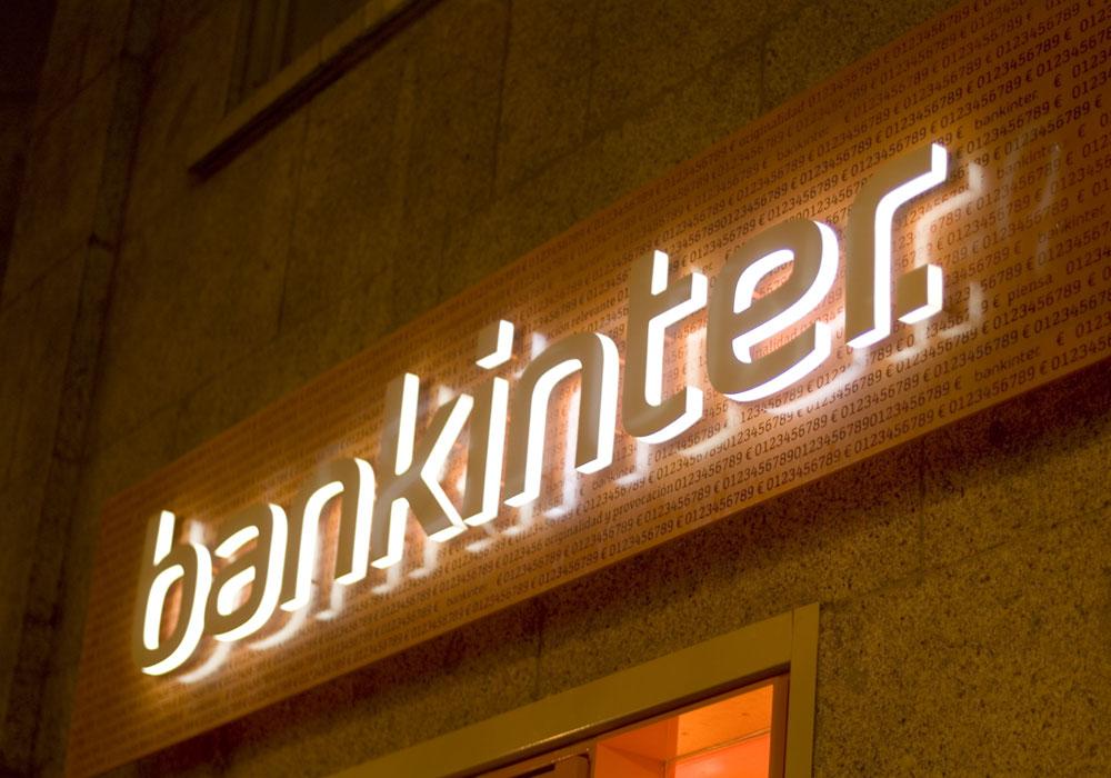Exterior de oficina Bankinter
