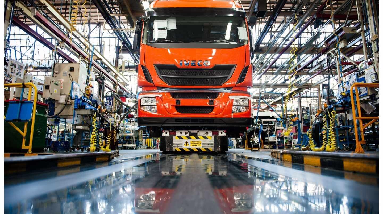 Fábrica de Iveco en Madrid.