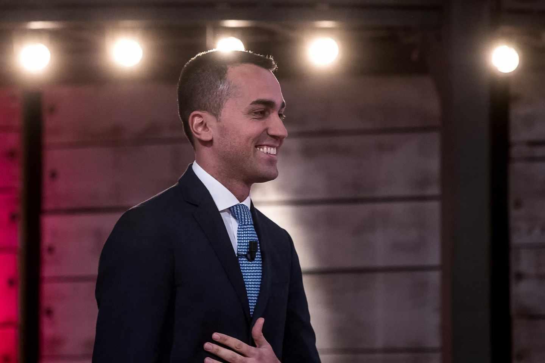 Luigi di Maio, vencedor en las elecciones italianas.