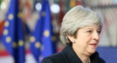 La primera ministra británica, Theresa May, en una comparecencia reciente.