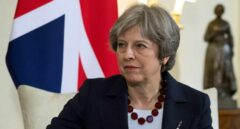 Theresa May, en el 10 de Downing Street.