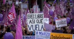 La manifestación más masiva de Europa por el 8M se celebró en Madrid
