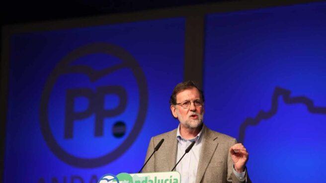Mariano Rajoy, en su intervención en Marbella.