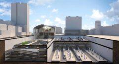 Recreación de la futura estación de alta velocidad en Bilbao.