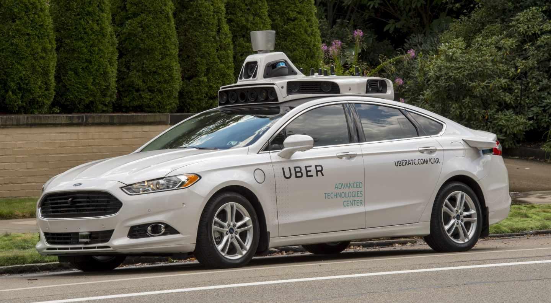 Coche autónomo de Uber.