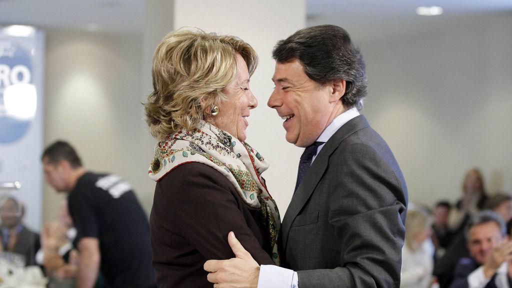 Esperanza Aguirre e Ignacio González en una imagen de archivo