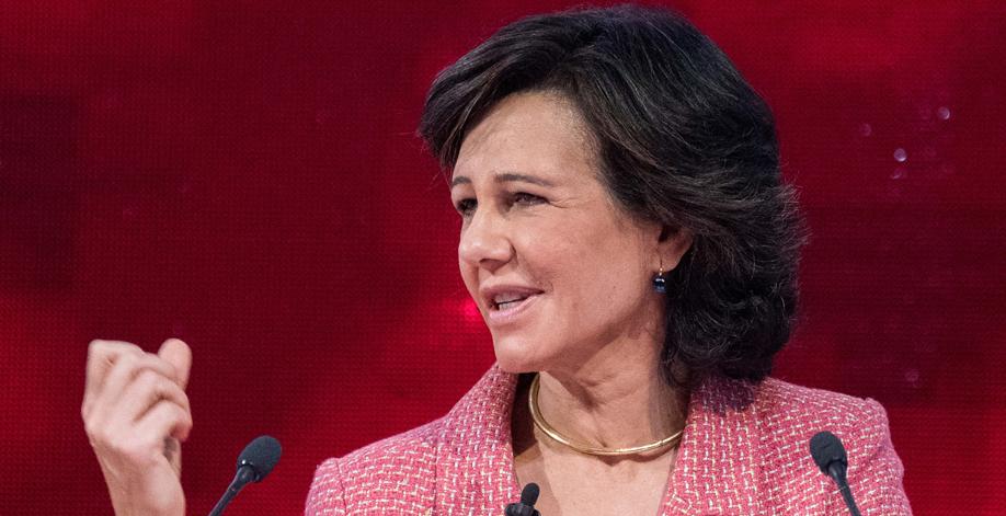 Ana Botín. presidenta de Santander.