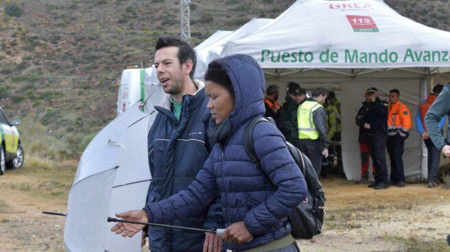 Ana Julia Quezada, sospechosa del crimen, junto al padre de Gabriel Cruz.