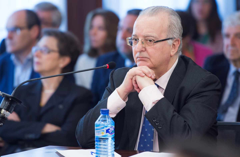 El ex consejero andaluz de Empleo, Antonio Fernández, durante el juicio del caso ERE.