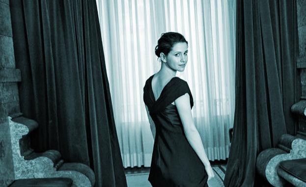 Inés Arrimadas, en el posado para la entrevista con Telva.