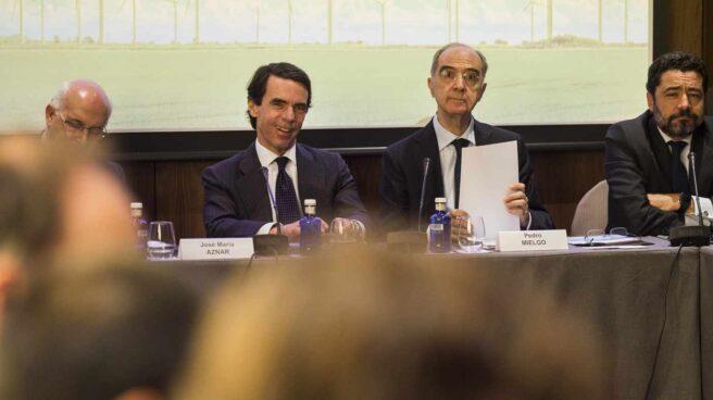 El ex presidente del Gobierno y presidente de Fundación FAES, José María Aznar.