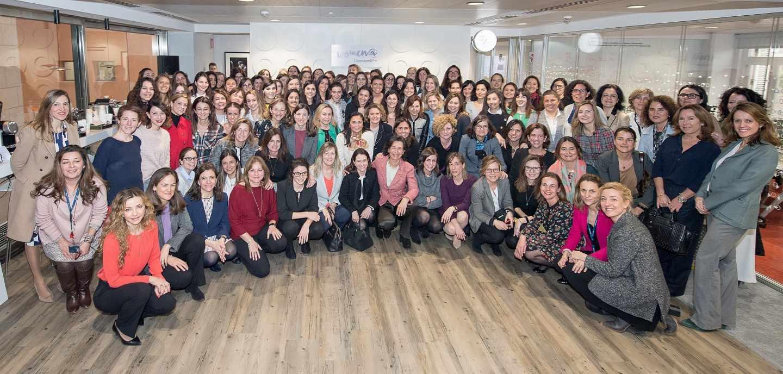 Ana Botín, presidente del Banco Santander, en el Día de la Mujer.