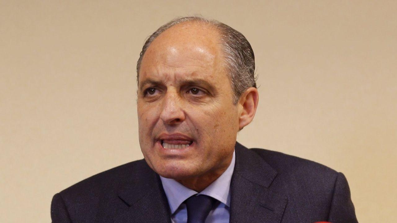 El ex presidente de la Comunidad Valenciana Francisco Camps