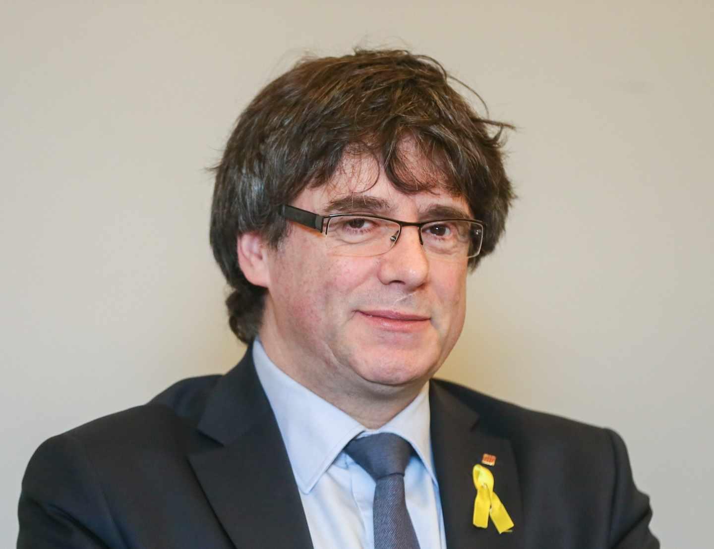 El ex presidente de la Generalitat de Cataluña, Carles Puigdemont.