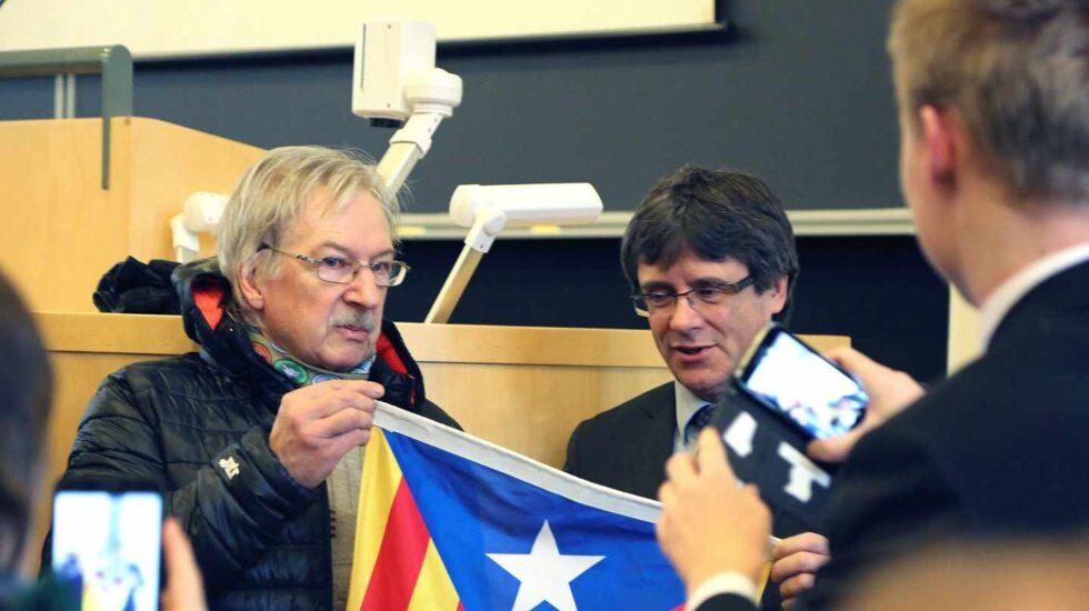 Carles Puigdemont, este viernes en Helsinki.