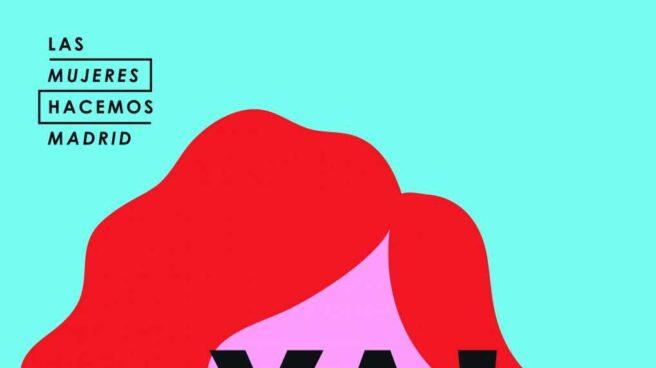 Cartel del Día Internacional de la Mujer del Ayuntamiento de Madrid.