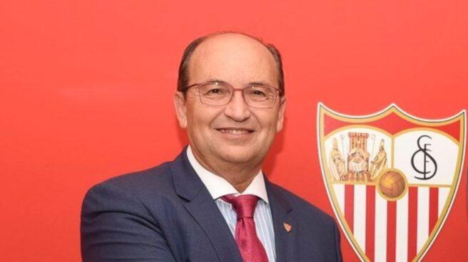 José Castro, presidente del Sevilla FC.