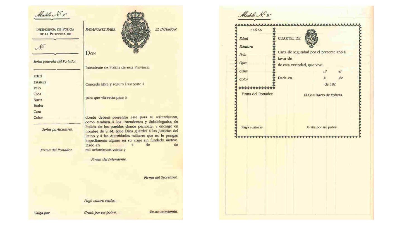 Antes de la existencia del DNI existían la Cartas de seguridad, cédulas de identidad y pasaportes interiores.