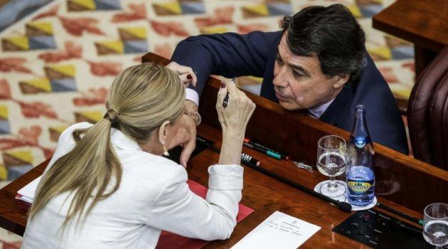 Cristina Cifuentes e Ignacio González en una imagen de archivo