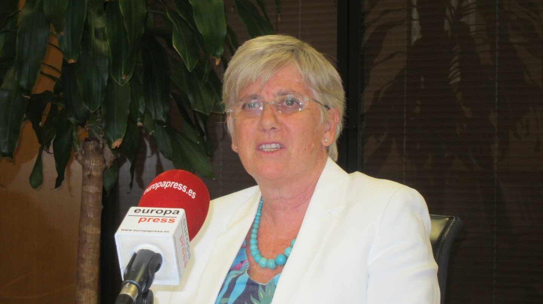 La ex consellera de Educación Clara Ponsatí.