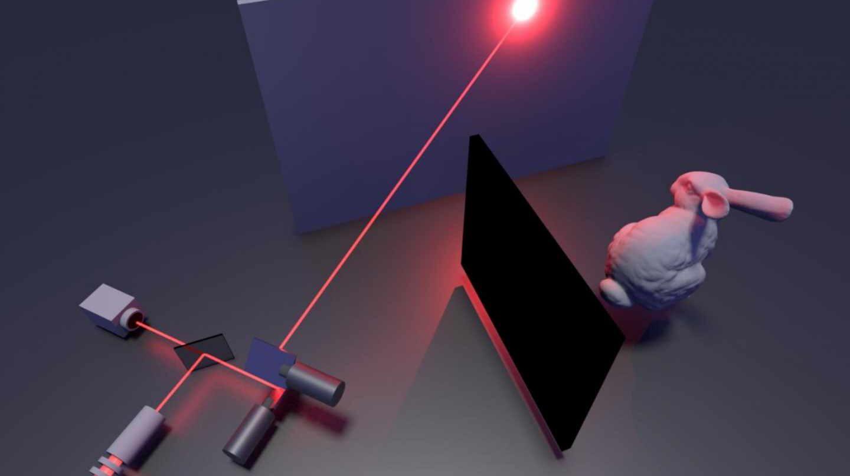 Así funciona el láser que ve tras las esquinas