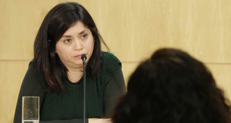 La concejal del Ayuntamiento de Madrid Rommy Arce.