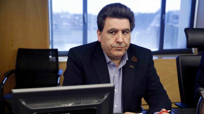 David Marjaliza, este miércoles, durante su comparecencia en el Congreso.