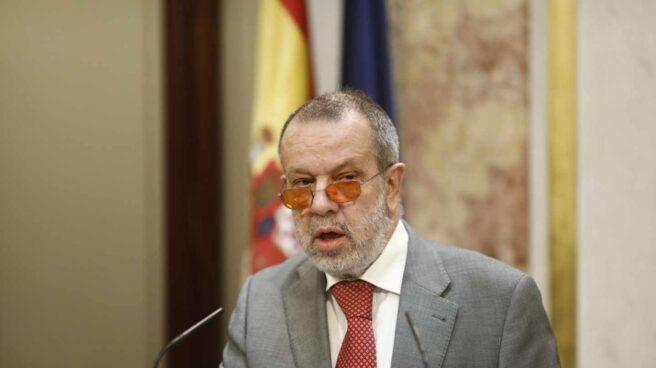 El Defensor del Pueblo, Francisco Fernández Marugán.