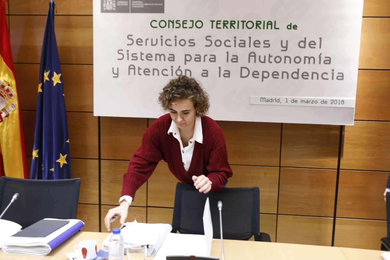 La ministra de Sanidad, Dolors Montserrat.