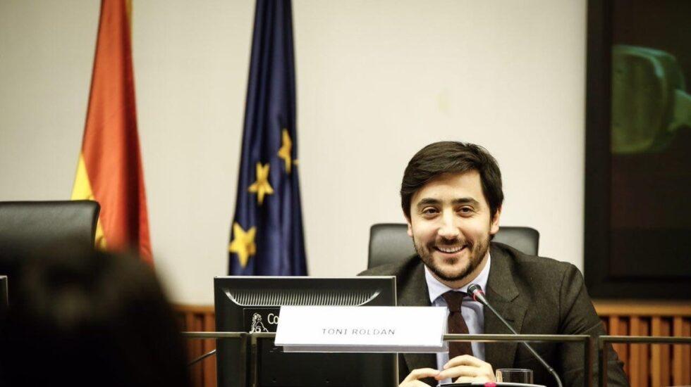 Toni Roldán, portavoz d e Economía de Ciudadanos en el Congreso.