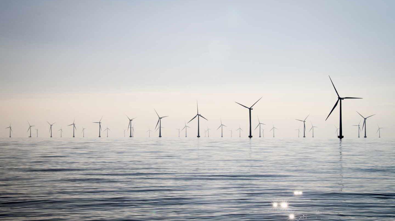 Parque eólico marino gestionado por la eléctrica alemana E.On.