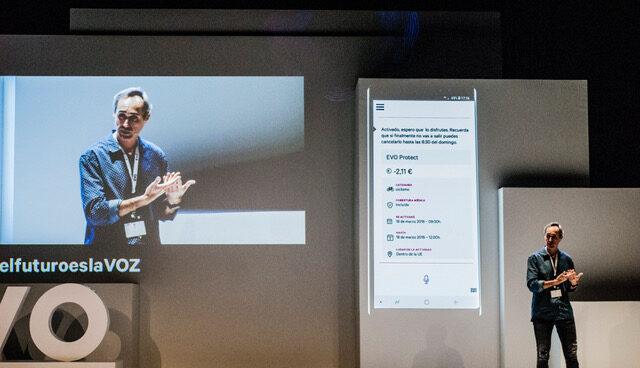 Enrique Tellado, consejero delegado de Evo Banco, durante la presentación de EVO Assistant.