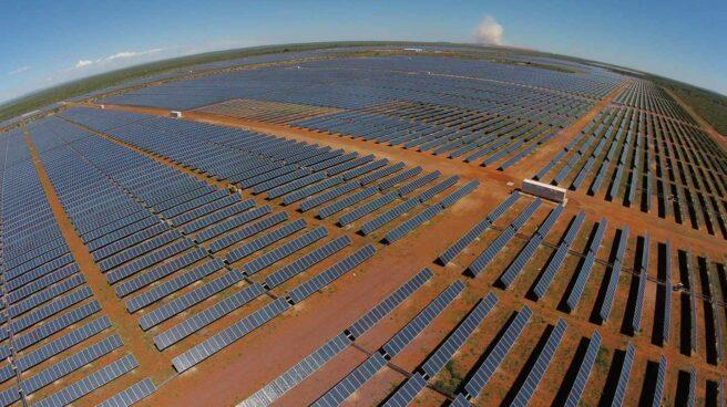 Una planta fotovoltaica.