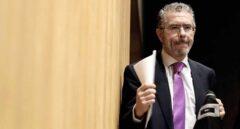 Francisco Granados, a su llegada a la comisión de investigación del Congreso de los Diputados.