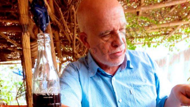 Eduardo Pascual de Arxé, en su escondite de Burkina Faso en una imagen tomada en abril de 2017.