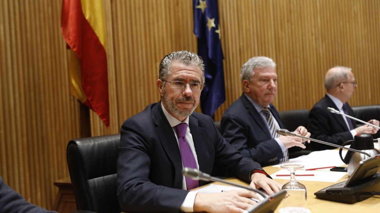 Francisco Granados comparece en el Congreso.