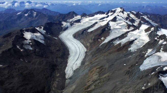 Glaciares en los Alpes austriacos.