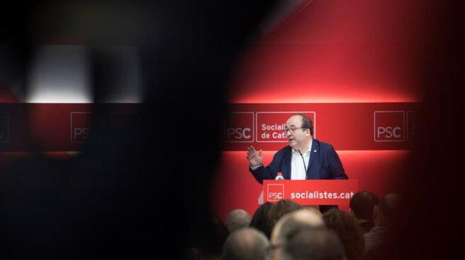 Miquel Iceta, durante un acto del PSC celebrado este sábado en Tàrrega (Lleida).