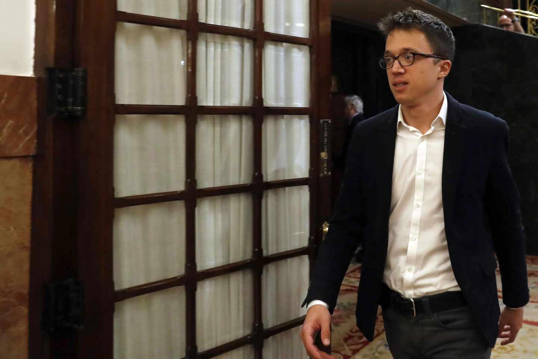 El secretario de Análisis Estratégico y Cambio Político de Podemos, Íñigo Errejón.
