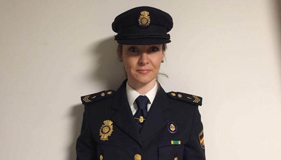 Isabel Rodríguez Aranda, oficial de Policía y secretaria general de la Unión Federal de Policía (UFP) en Cataluña.