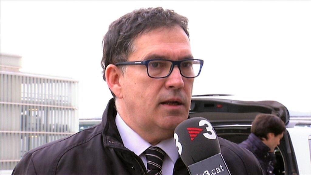 El abogado de Carles Puigdemont, Jaume Alonso-Cuevillas.