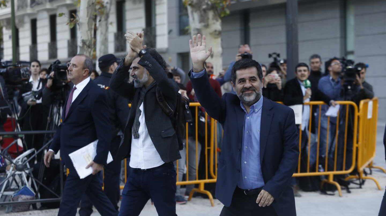 Jordi Sánchez a su llegada a la Audiencia Nacional el pasado octubre.
