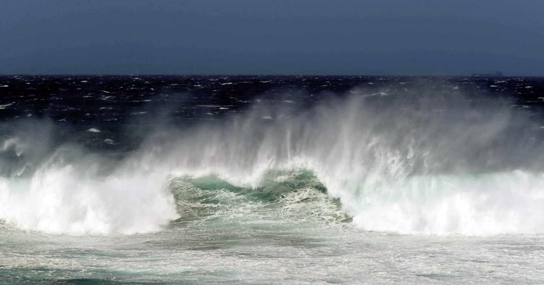 El fin de semana se espera fuerte oleaje en el atlántico.