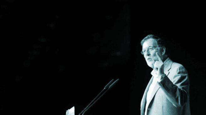 Mariano Rajoy, en un acto del PP en Marbella.