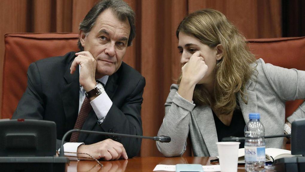Artur Mas y Marta Pascal en una imagen de archivo